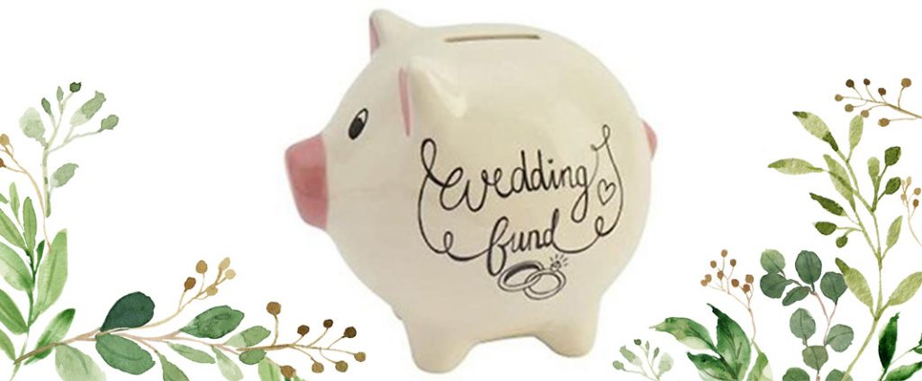 wedding budget blog piggybank