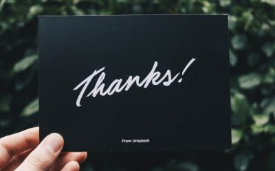 A How-To for Thank You Notes