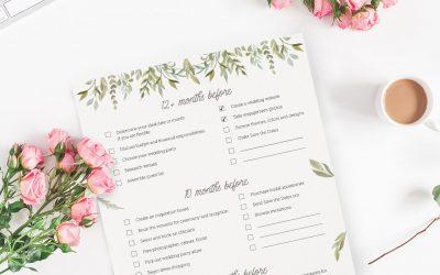 Printable Wedding Binder