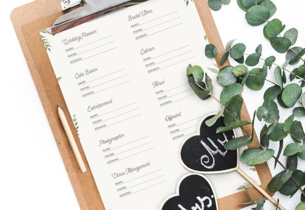 Printable Planning Binder