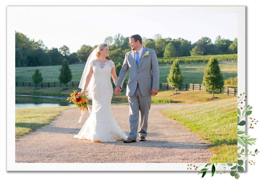 Real Wedding - Claudia and Jim