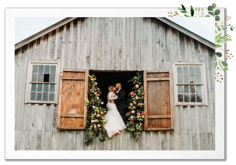 Real Wedding - Aubry and Jason