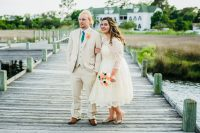 New with tags wedding dress from ModCloth
